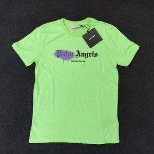 Palm Angesl Green Casual T-Shirt